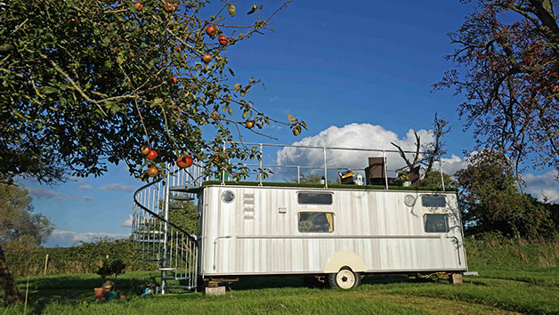 Two Night Glamping Break in The Warwick Knight Caravan, Gloucestershire
