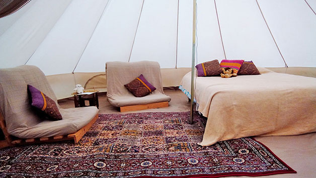 Overnight Stay in Bell Tent in Dorset at Dorset Country Holidays for Two