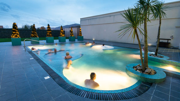 One Night Spa Break with Dinner for Two at The Malvern Spa Hotel