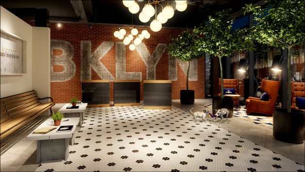 Luxury Overnight Stay with Dinner for Two at Hotel Brooklyn, Manchester