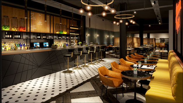 Luxury Two Night Getaway with Breakfast at Hotel Brooklyn in Manchester for Two