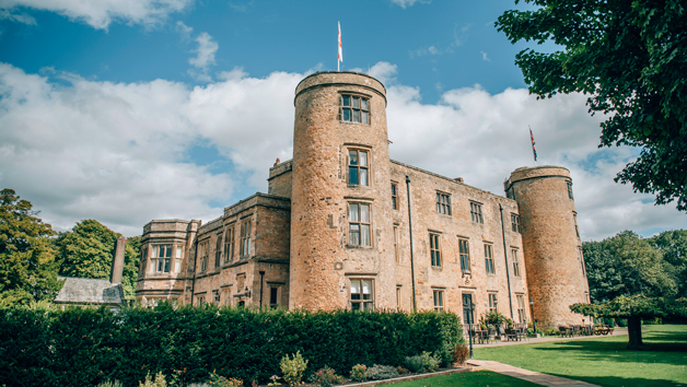 Two Night Luxury Break in a Four Poster Room for Two at Walworth Castle Hotel