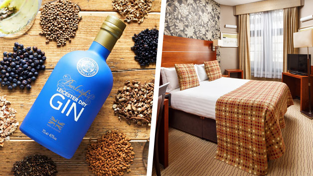 Two Night Stay at Mercure Leicester The Grand Hotel with a Gin Masterclass at 45 Gin School for Two