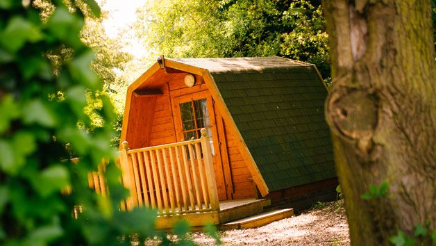 Overnight stay in a Cocoon at Lee Valley