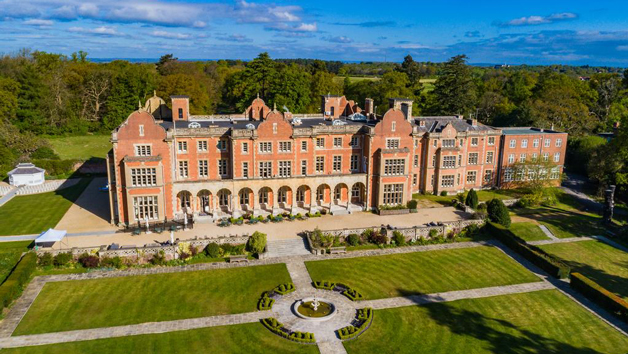 Overnight Indulgent Escape with Dinner at Easthampstead Park for Two