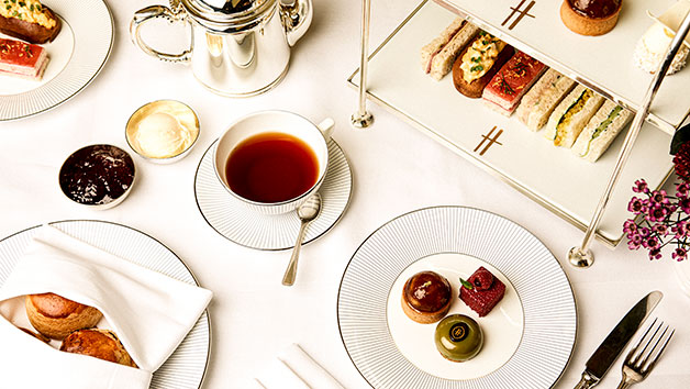 Prosecco Cream Tea for Two People at The Harrods Tea Rooms