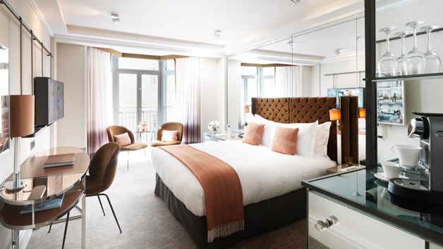Luxury Overnight Break with Dinner for Two at The Athenaeum Hotel