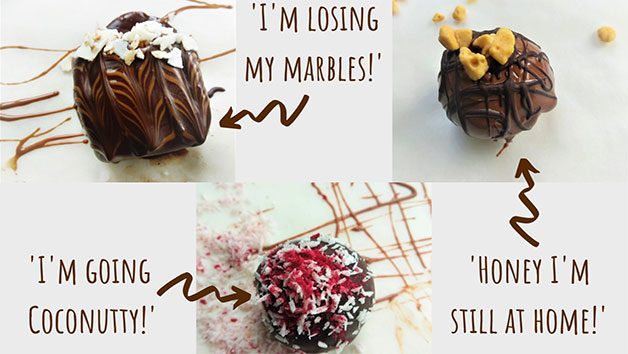 Online Chocolate Truffle Making Webinar and Truffle Kit for Two with My Chocolate