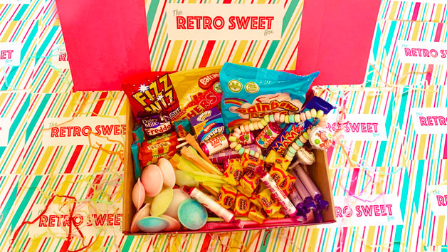 Classic Retro Sweet Box for One