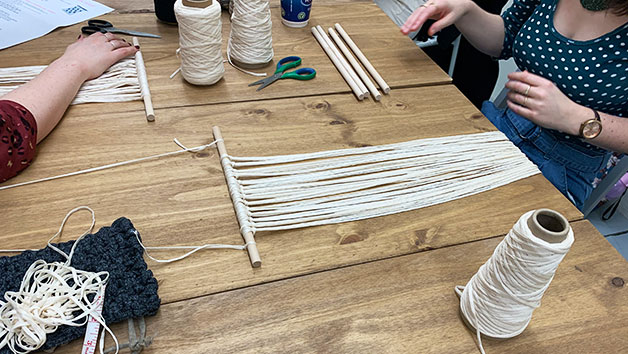 Learn to Create a Macrame Wall Hanging Online Lesson for One