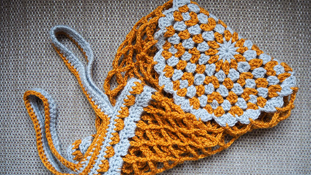 Learn to Crochet a Shopper Bag Online Lesson for One