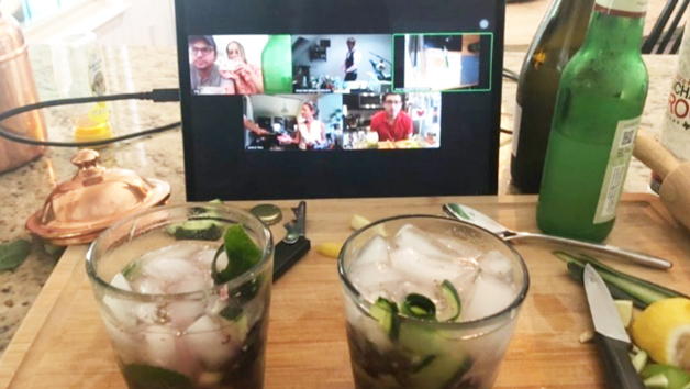 Ginspiration Online Cocktail Masterclass with Beyond the Bar for Six