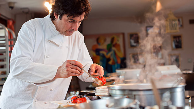 Online Cooking Masterclass with Jean Christophe Novelli