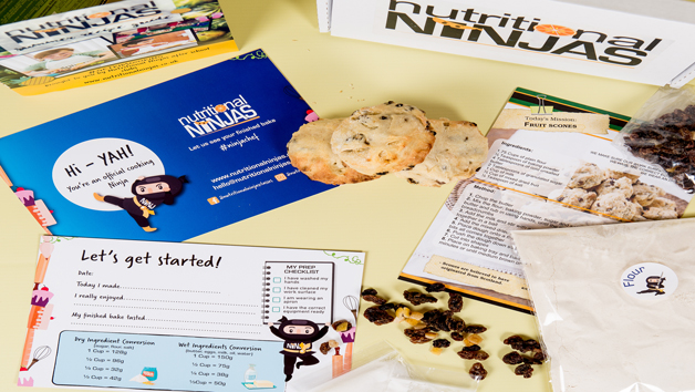 Twelve Month Baking Subscription for Kids with Nutritional Ninjas Bake Box