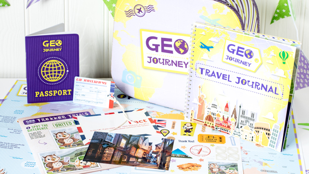 Six Month Geo Journey or Space Journey Kids Subscription for One
