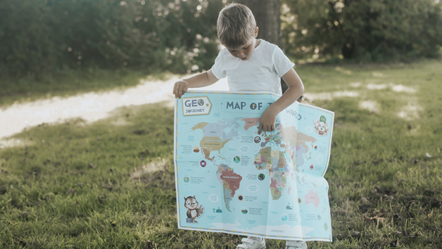 Three Month Geo Journey or Space Journey Kids Subscription for One