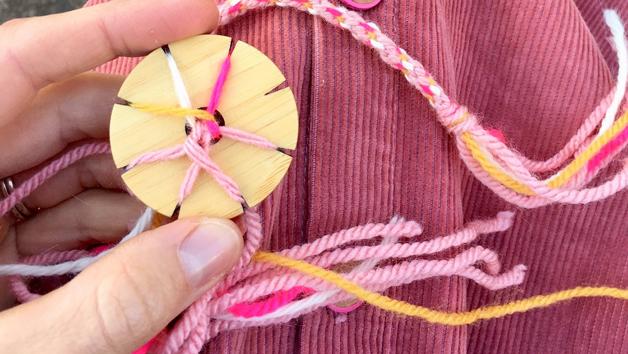 Friendship Bracelet and Pom Pom Sewing Starter Kit for One with Online Power Hour Workshop