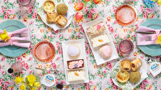 Boozy Brunch Afternoon Tea for Two with Piglet's Pantry