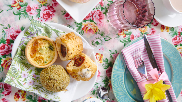 Springtime Afternoon Tea for Two from Piglet's Pantry