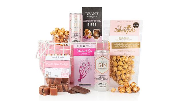 Pink Gin and Treats Gift Hamper