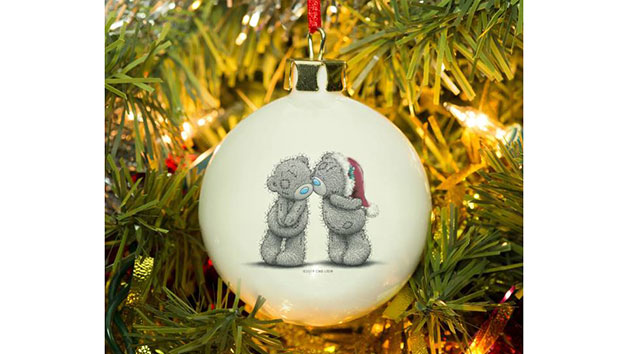 Me To You Personalised Christmas Together Bauble