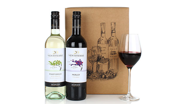 Italian Wine Duo Gift Hamper