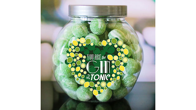 You Are the Gin to My Tonic Personalised Sweet Jar