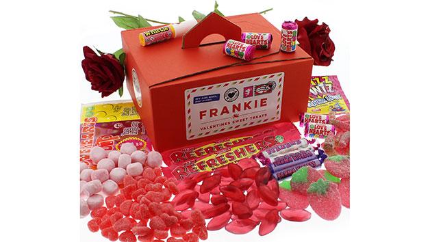 Cupid's Personalised Sweet Box