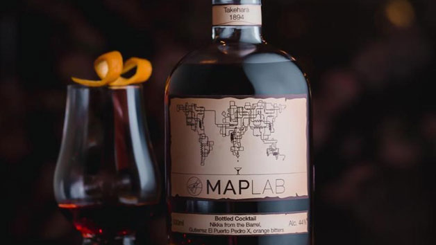 MAP Lab Premium Bottled Cocktails Kit from MAP Maison