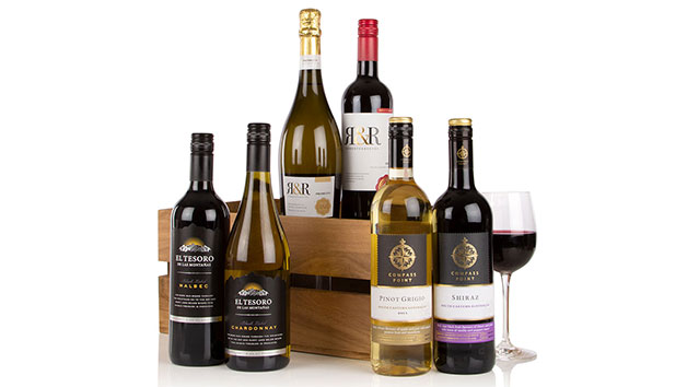 Six of the Best Wine Hamper