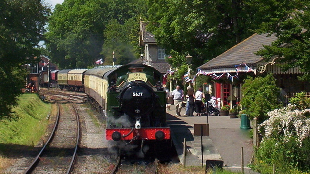 East Somerset Railway Steam Train Trip with Cream Tea for Two