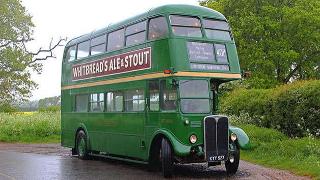 Steam Train Trip with Cream Tea and Vintage Bus Ride for Two