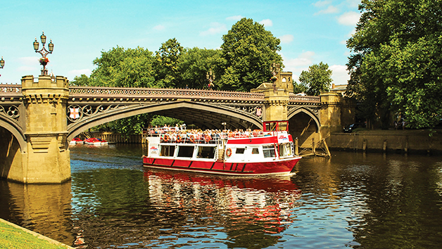 York City Sightseeing River Cruise for Two