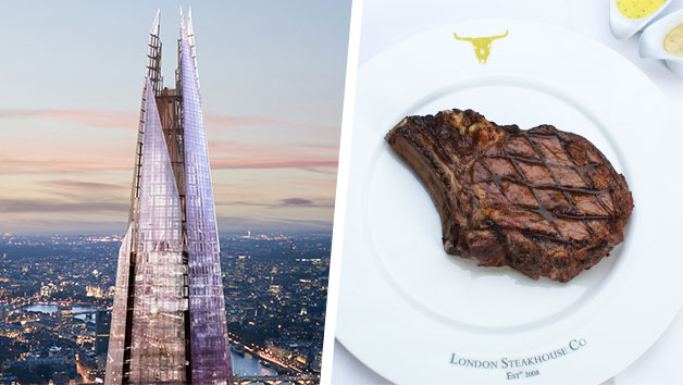 The View from The Shard and Three-Course Meal at Marco Pierre White London Steakhouse