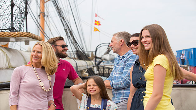 Annual Family Pass to Portsmouth Dockyard