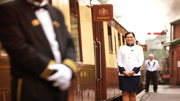Golden Age of Travel on Belmond British Pullman with Champagne for Two
