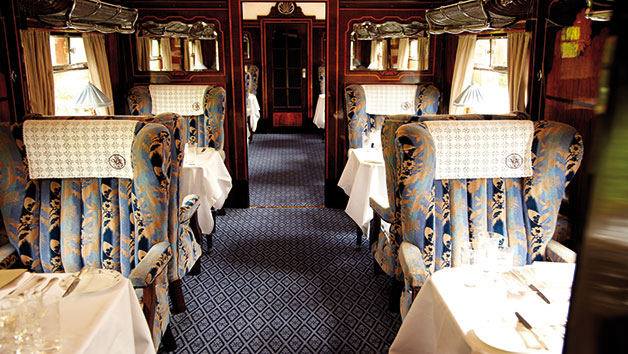 Steam Hauled Golden Age of Travel for Two Aboard Belmond British Pullman