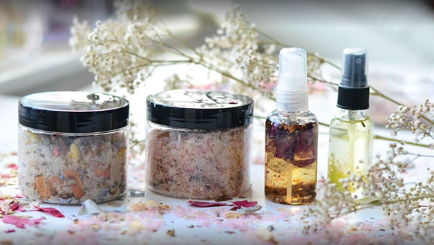 Handmade Beauty Products Crafting Class at Midas Touch Crafts