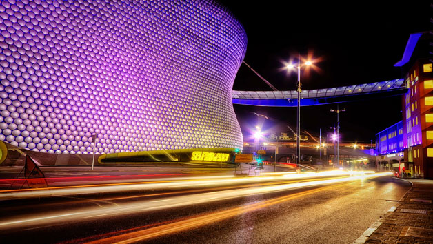 Birmingham Photography Tour at Night