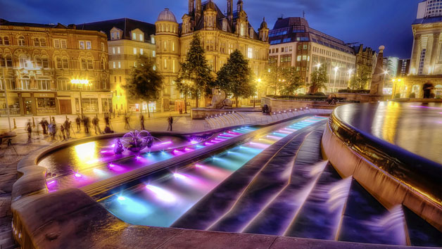 Birmingham Photography Tour at Night for Two