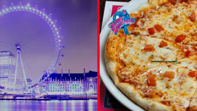 London Meal and Photography Tour at Night for Two