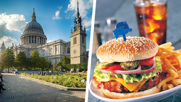 Family Entry to St Paul's and a Two Course Meal with Drinks at Planet Hollywood