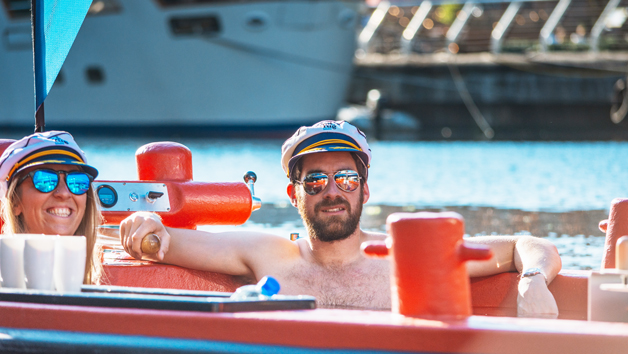 Skuna Hot Tug Boat Guided Tour in Central London for Two