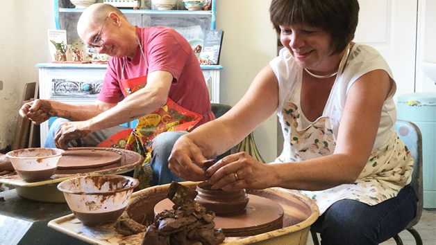Potters Wheel Workshop Experience for Two at Eastnor Pottery