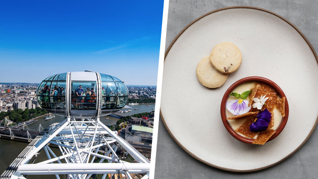 Coca Cola London Eye for Two and Bateaux Lunch Cruise