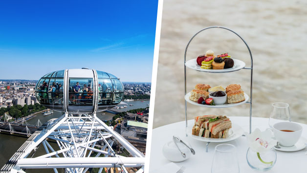 London Eye  for Two and Bateaux Afternoon Tea Cruise