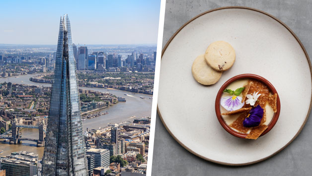 Bateaux Lunch Cruise and The View from the Shard for Two