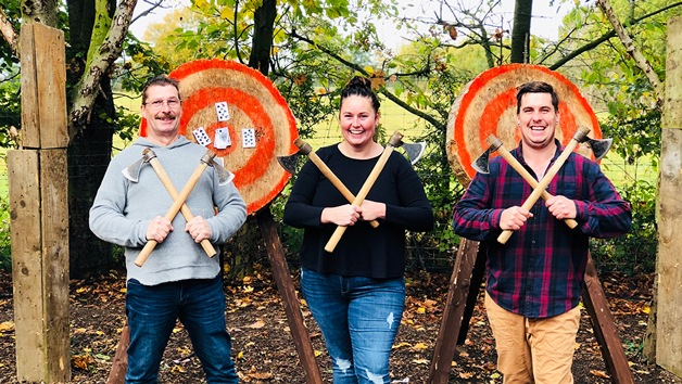 Axe Throwing Experience at Yorkshire Activity Centre for Two