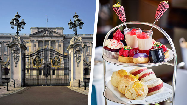 Buckingham Palace State Rooms and Afternoon Tea at Rubens at The Palace for Two