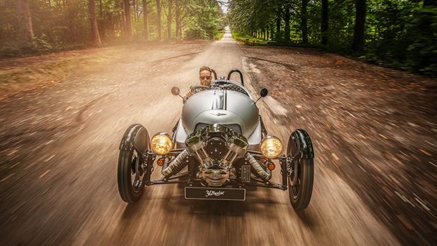 Half Day Morgan 3-Wheeler Driving Experience and Factory Tour